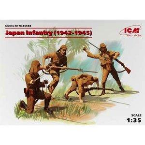 Icm . ICM 1/35 JAPANESE INFANTRY FIGURES1942-1945