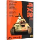 A K Interactive . AKI 4X2 BOOK T34, STURM IV, JUMBO, CROMWELL