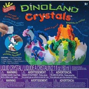 Slinky Science . SLY SCI EXP DINOLAND CRYST