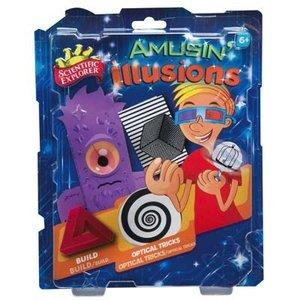 Slinky Science . SLY AMUSIN ILLUSIONS