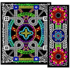 Stuff To Color . SFC Multi Pk Geo Vine Srt