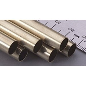 K&S Engineering . K+S ROUND BRASS TUBE 11/32X12""
