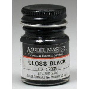 Testors Corp. . TES MM ENAMEL 1/2OZ GLOSS BLACK