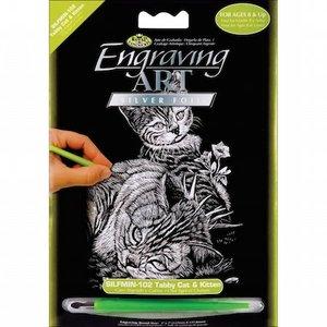 Royal (art supplies) . ROY CAT/KITTEN  SILER ENG ART MINI