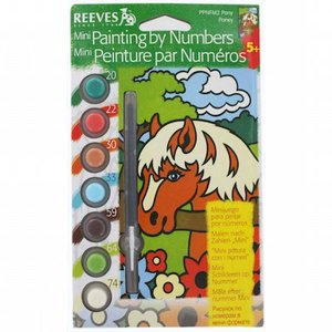 Royal (art supplies) . ROY PONY PANIT BY NUM