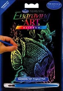 Royal art supplies roy trop fish rainbow eng mini for Roy s fishing supply