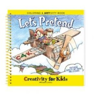Creativity for kids . CFK LETS PRETEND ACTIV. BOOK