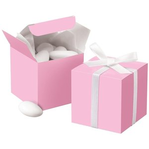 Wilton Products . WIL PINK SQUARE FAVOR BOX