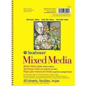Strathmore . STR MIXED MEDIA SKETCH BOOK 5.5X8.5