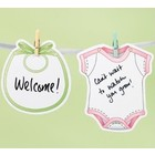 Wilton Products . WIL WELCOME BABY GARLAND