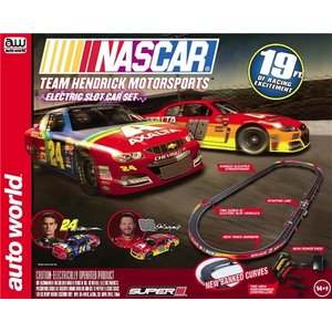 Auto World . AWD HO NASCAR HENDRICK RACE SET