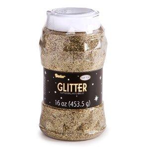 Darice . DAR GLITTER - GOLD 16OZ