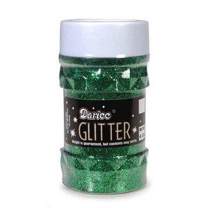 Darice . DAR GLITTER - GREEN 4OZ