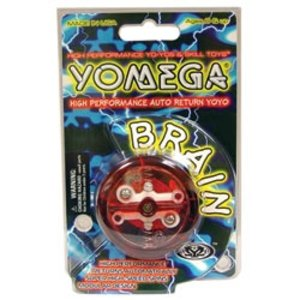 Yomega . YOM YO YO BRAIN TRNSLC IN PEG PACK