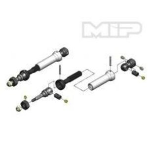 Moores Ideal Products . MIP FR X-DUTY CVD KIT SLASH