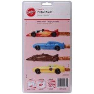 Wilton Products . WIL PRETZEL MOLD - RACE CAR