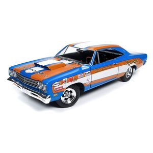 Auto World . AWD 1/18 69 PLYMOUTH ROAD RUNNER DON GRTHR