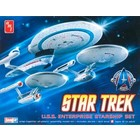 AMT\ERTL\Racing Champions.AMT 1/2500 Star Trek 3 In 1
