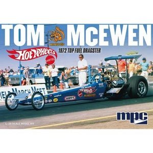 MPC . MPC 1/25 TOM MCEWAN 1972 TOP FUEL DRAGSTER