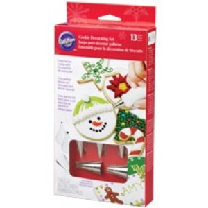 Wilton Products . WIL COOKIE DECORATING SET