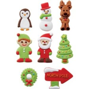 Wilton Products . WIL ICING DECS GINGERBREAD