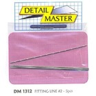 Detail Master R/C . DTM 1/24  FITTING LINE #2 .025""