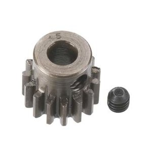 Robinson Racing Products . RRP 15T 5MM TRA .8 MOD PINION