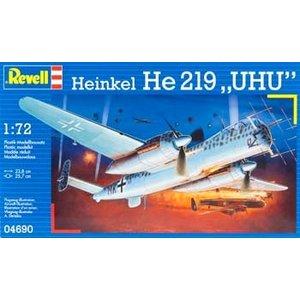 Revell of Germany . RVL 1/72 HEINKEL HE 219 ''UHU''