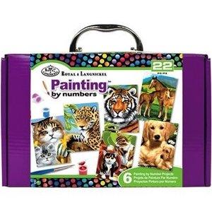 Royal (art supplies) . ROY MINI PBN IN COLOR BOX