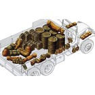 Tamiya America Inc. . TAM 1/35 ALLIED VEHICLE ACCESSORY