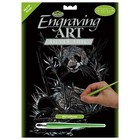 Royal (art supplies) . ROY SILVER ENGRAVING PANDA