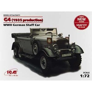 Icm . ICM 1/72 G4 WWII GER STAFF CAR
