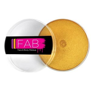 Fab . FAB AQUACOLOR GOLD SHIMMER 16GM FACE & BODY PAINT