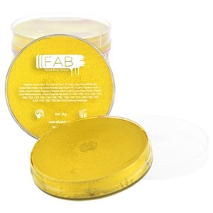 Fab . FAB AQUACOLOR GOLDEN SHIMMER 45GM FACE & BODY PAINT