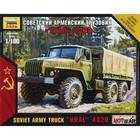 Zvezda Models . ZVE 1/100 URAL 4320 RUS ARMY