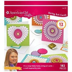 American Girl . AGC AMERICAN GIRL STRING ART