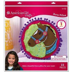 American Girl . AGC HORSE PILLOW KIT