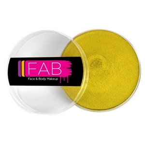 Fab . FAB AQUACOLOR GOLDEN SHIMMER 16GM FACE & BODY PAINT