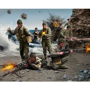 Revell of Germany . RVL 1/76 BRITISH COMMANDOS WWII