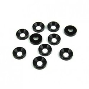 Tekno RC . TKR M4 COUNTER SUNK WASHER BLK