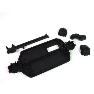 Hobby Products Intl. . HPI MAIN CHASSIS/GR BX SET