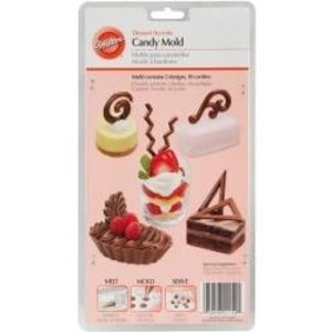 Wilton Products . WIL CANDY DSSRT MOLD ACCENTS