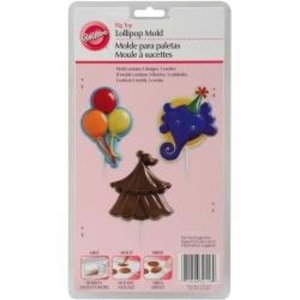 Wilton Products . WIL LOLLIPOP MOLD - BIG TOP