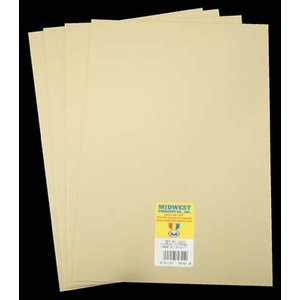 Midwest Products Co. . MID MIRROR GOLD STYRENE  .040