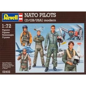 Revell of Germany . RVL 1/72 COMBAT PILOTS MDRN