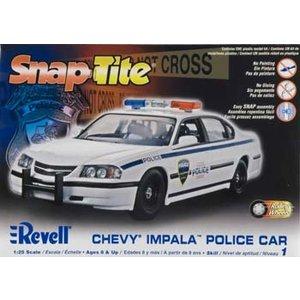 Revell Monogram . RMX 1/25 05 CHEVY POLICE CAR EASY