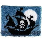 Caron . CAR LATCH HOOK PIRATE SHIP