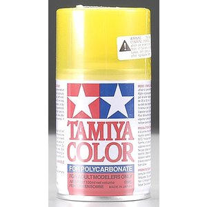 Tamiya America Inc. . TAM PS-42 TRANS YELLOW SPRAY