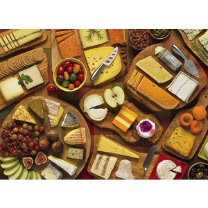 Cobble Hill . CBH MORE CHEESE PLEASE 1000PC