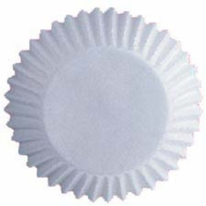 Wilton Products . WIL BAKING CUPS WHITE STD 75PK